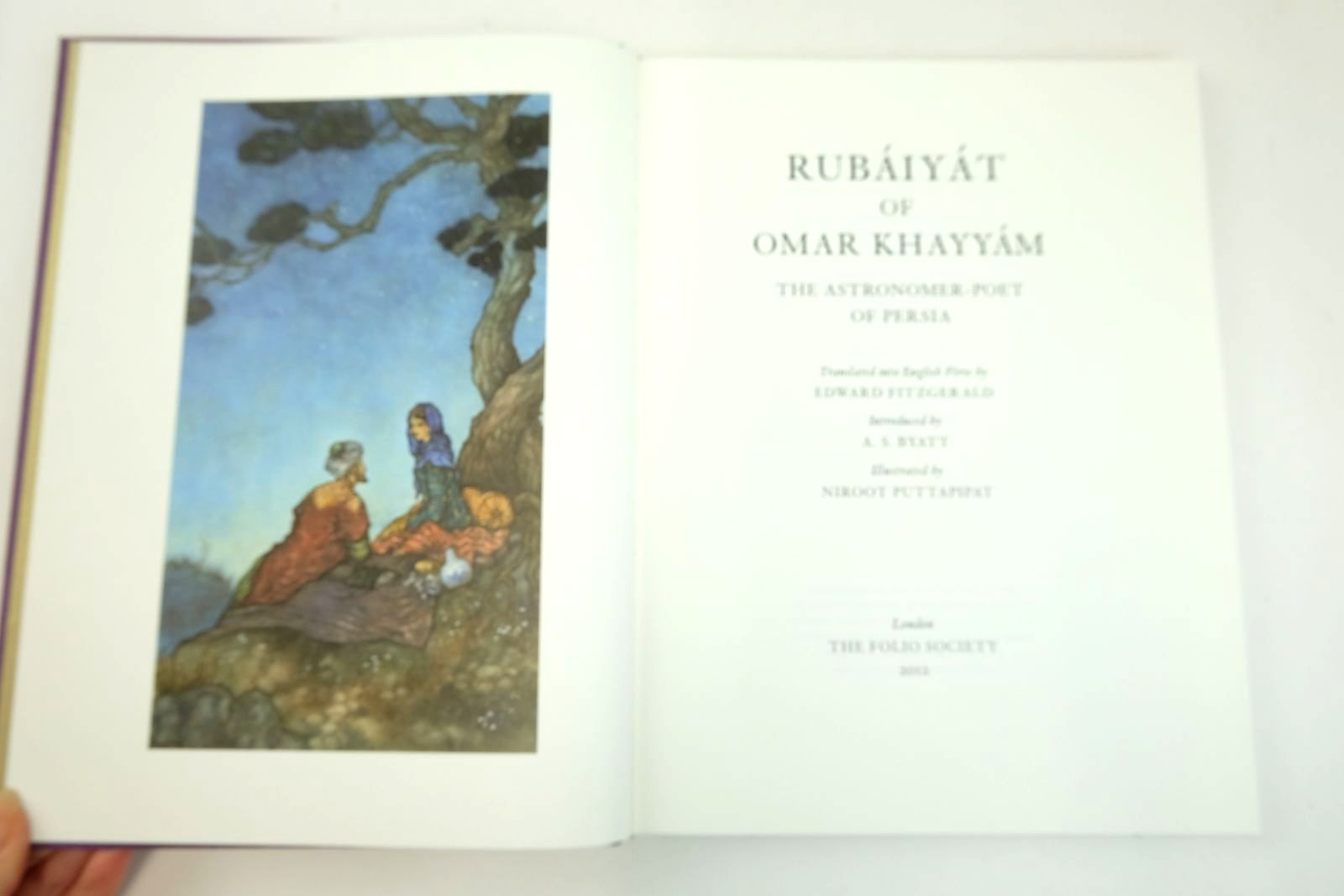 Photo of RUBAIYAT OF OMAR KHAYYAM written by Fitzgerald, Edward