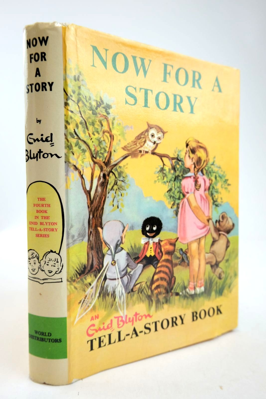 Photo of NOW FOR A STORY written by Blyton, Enid illustrated by Johnson, Joyce published by World Distributors Ltd. (STOCK CODE: 2133411)  for sale by Stella & Rose's Books