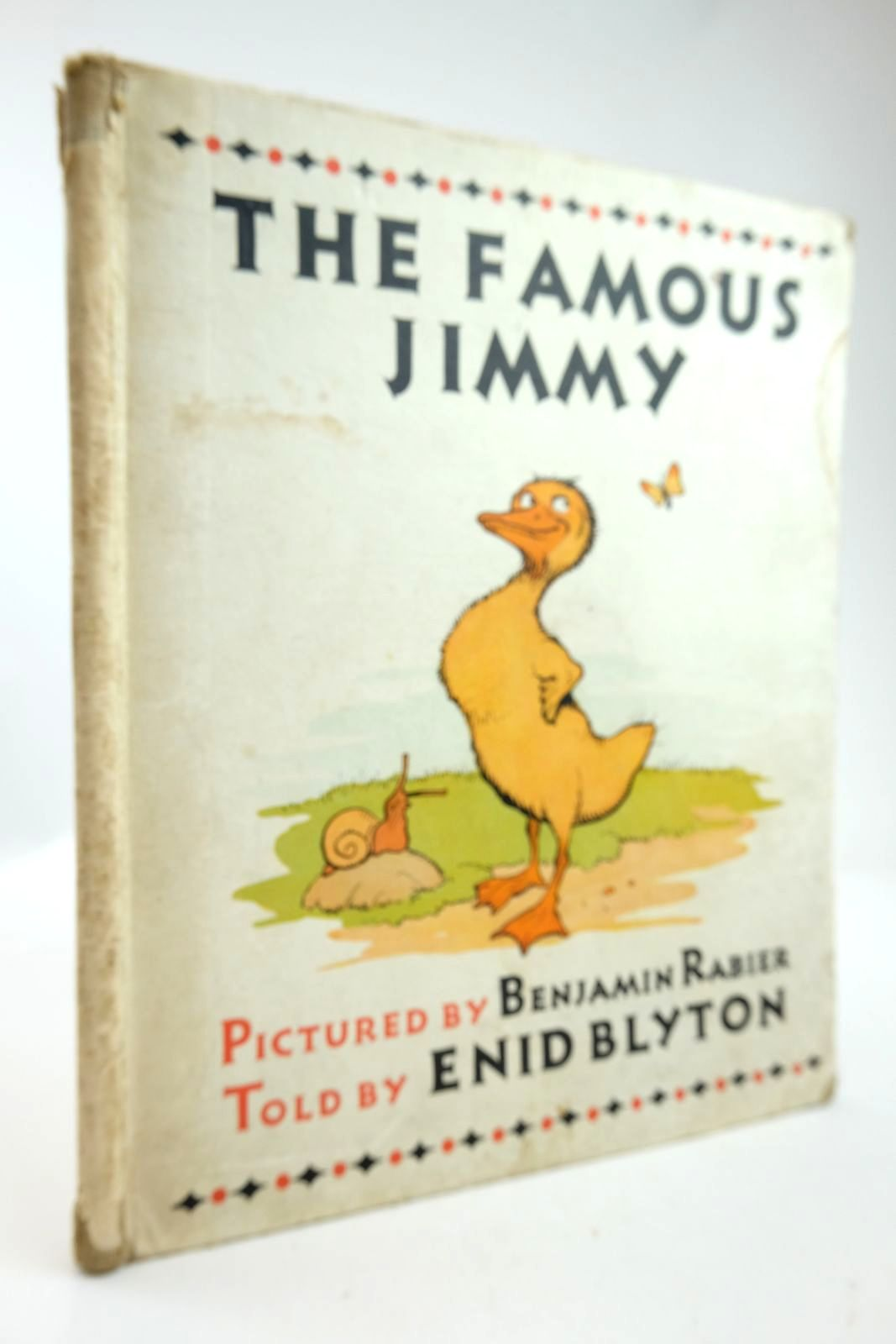 Photo of THE FAMOUS JIMMY written by Blyton, Enid illustrated by Rabier, Benjamin published by Frederick Muller Ltd. (STOCK CODE: 2133416)  for sale by Stella & Rose's Books