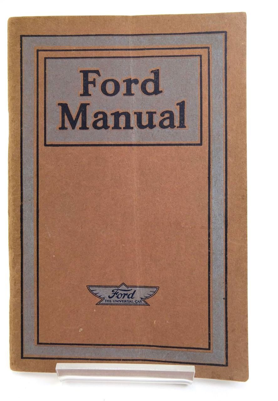 Photo of FORD MANUAL FOR OWNERS AND OPERATORS OF FORD CARS AND TRUCKS- Stock Number: 2133437