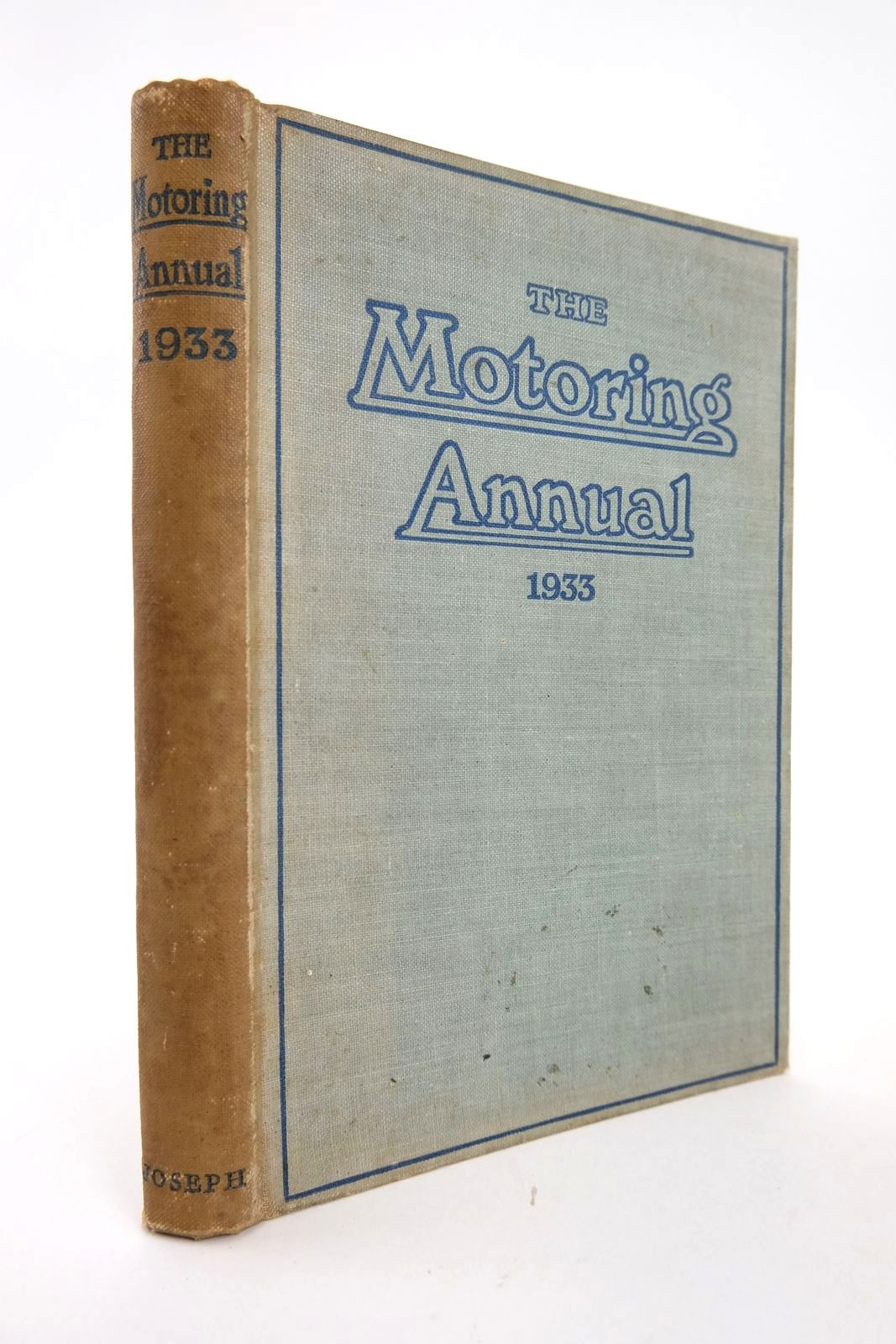 Photo of THE MOTORING ANNUAL 1933 written by Henslowe, Leonard published by Herbert Joseph (STOCK CODE: 2133445)  for sale by Stella & Rose's Books