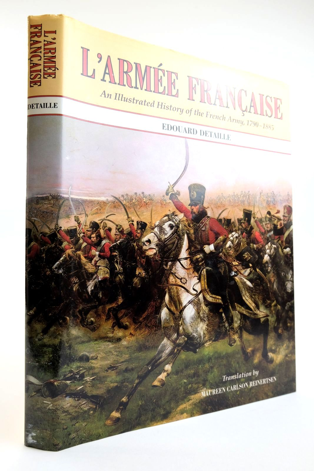 Photo of L'ARMEE FRANCAISE written by Richard, Jules illustrated by Detaille, Edouard published by Waxtel & Hasenauer (STOCK CODE: 2133465)  for sale by Stella & Rose's Books