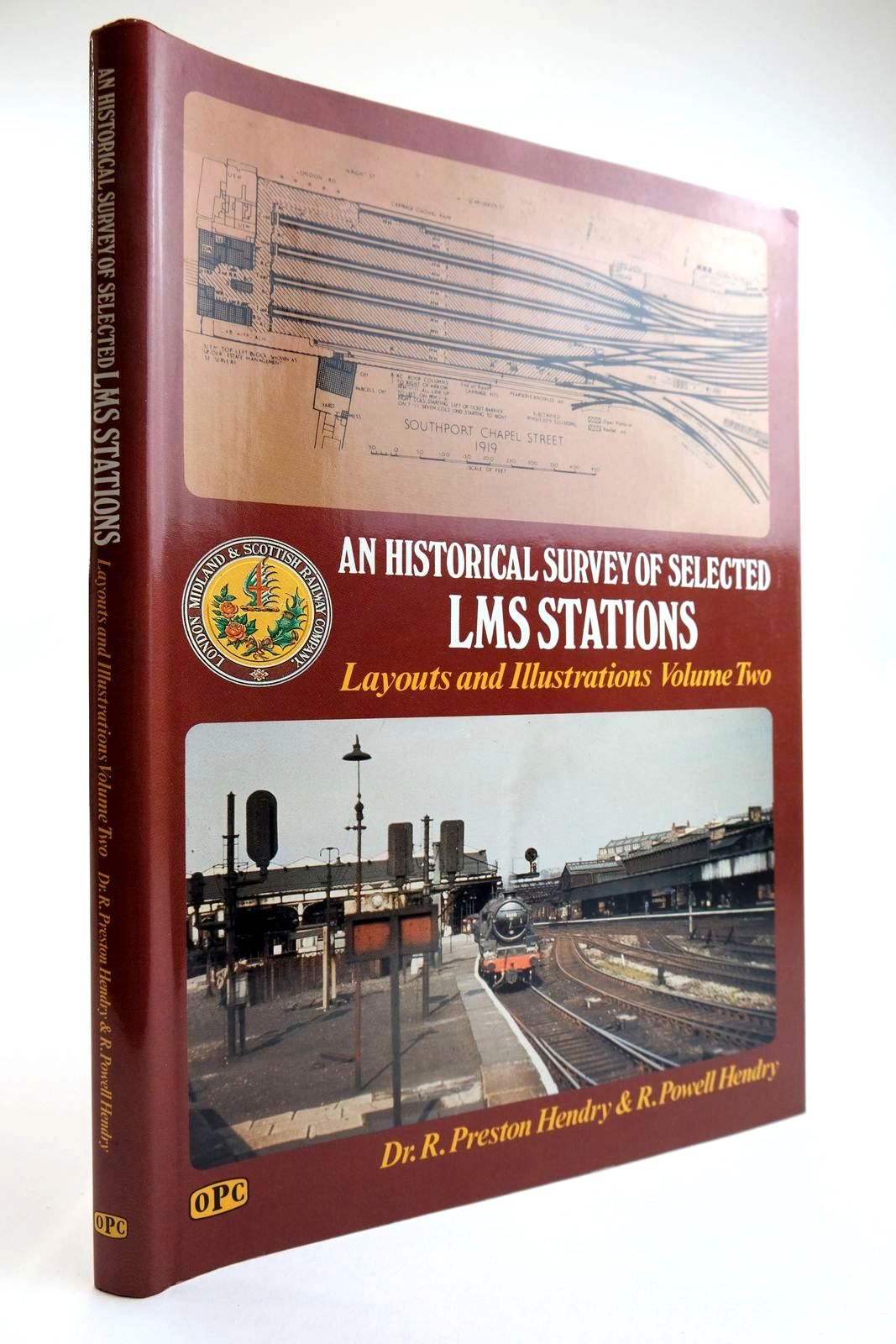 Photo of AN HISTORICAL SURVEY OF SELECTED LMS STATIONS LAYOUTS AND ILLUSTRATIONS VOLUME TWO- Stock Number: 2133483