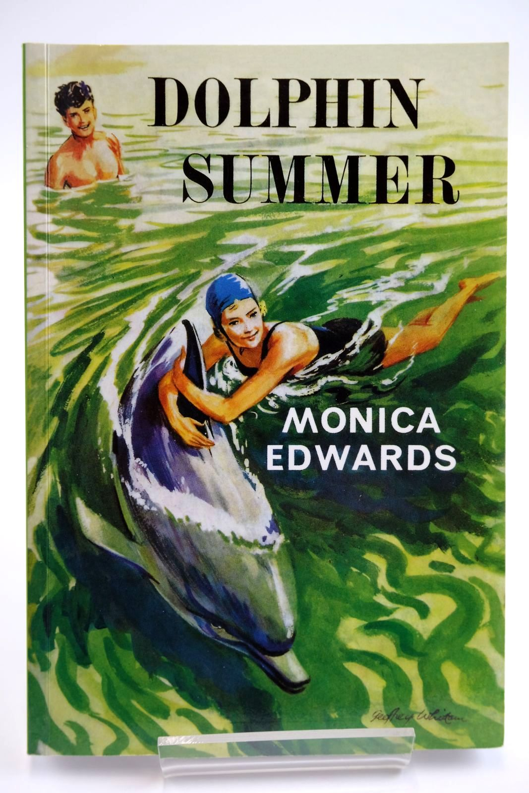 Photo of DOLPHIN SUMMER written by Edwards, Monica illustrated by Whittam, Geoffrey published by Girls Gone By (STOCK CODE: 2133512)  for sale by Stella & Rose's Books