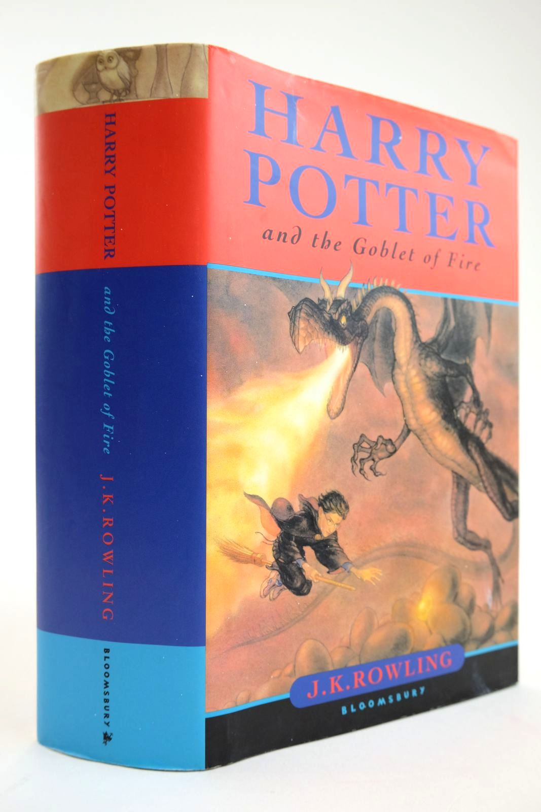 Photo of HARRY POTTER AND THE GOBLET OF FIRE written by Rowling, J.K. published by Bloomsbury (STOCK CODE: 2133538)  for sale by Stella & Rose's Books