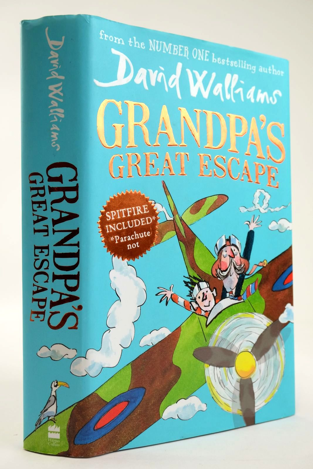 Photo of GRANDPA'S GREAT ESCAPE written by Walliams, David illustrated by Ross, Tony published by Harper Collins Childrens Books (STOCK CODE: 2133545)  for sale by Stella & Rose's Books