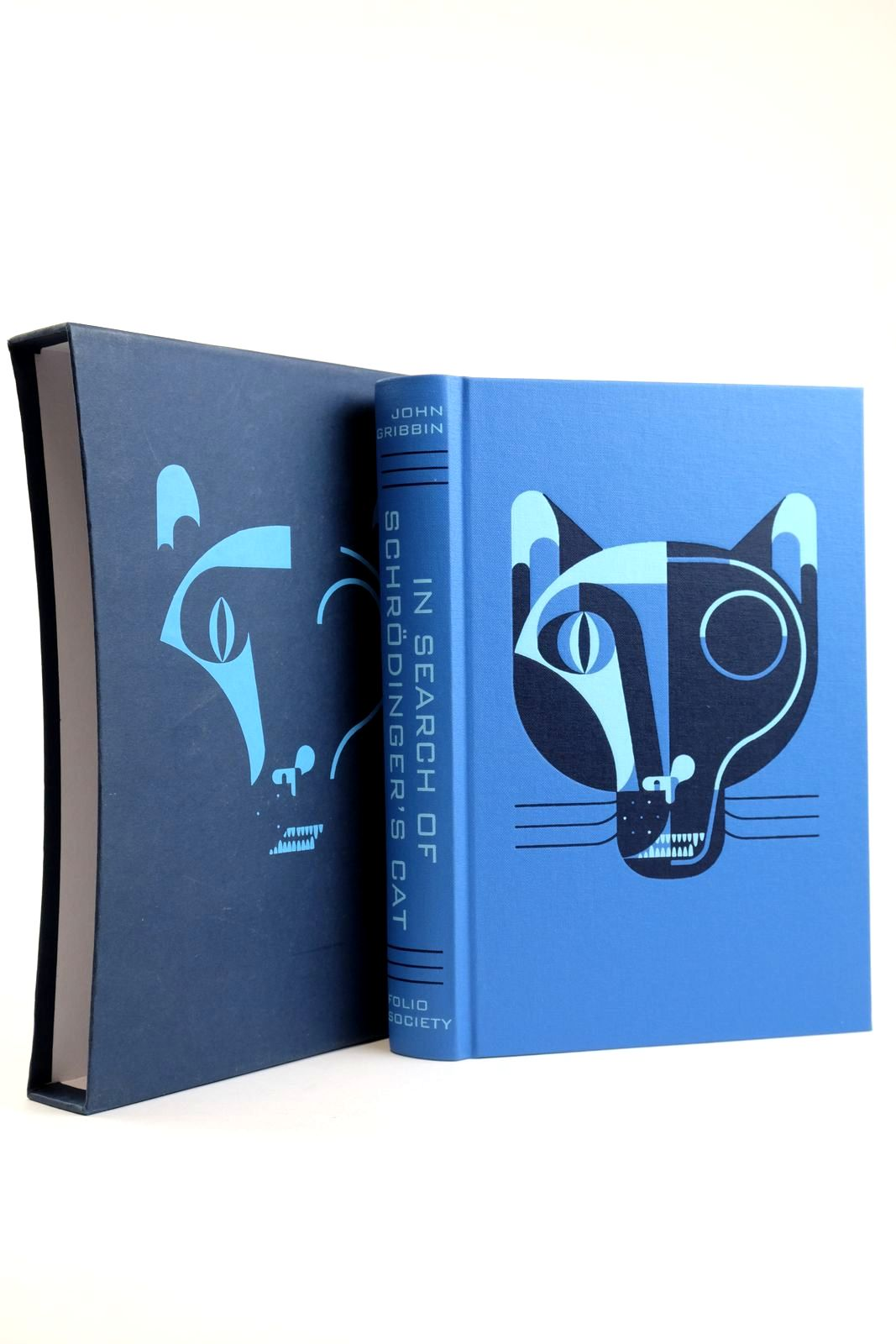 Photo of IN SEARCH OF SCHRODINGER'S CAT written by Gribbin, John illustrated by Biesinger, Raymond published by Folio Society (STOCK CODE: 2133547)  for sale by Stella & Rose's Books