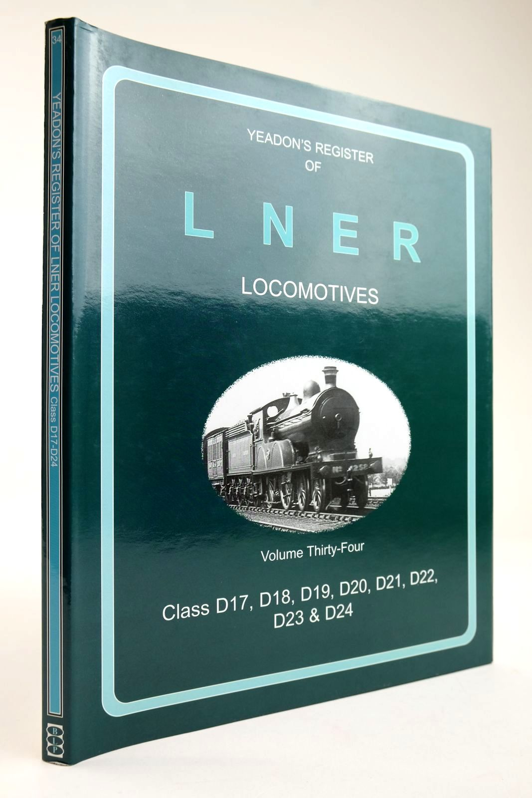 Photo of YEADON'S REGISTER OF LNER LOCOMOTIVES VOLUME THIRTY-FOUR written by Yeadon, W.B. published by Book Law Publications, Challenger Publications (STOCK CODE: 2133584)  for sale by Stella & Rose's Books