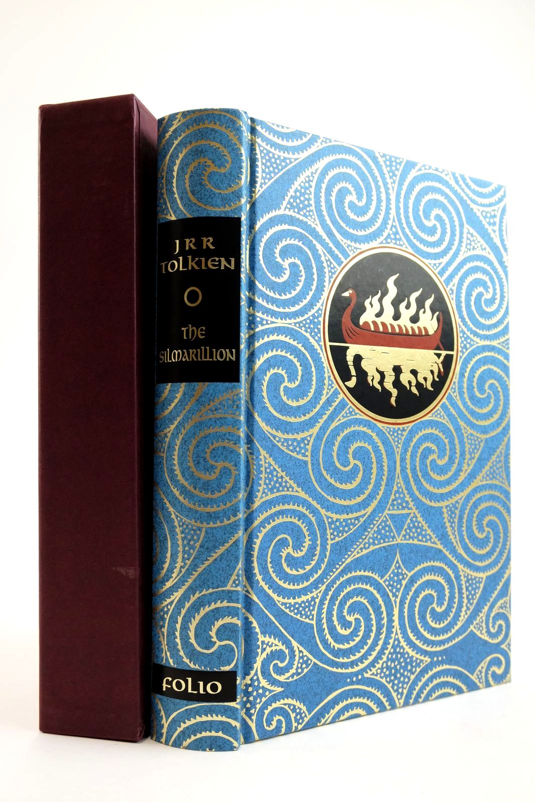 Photo of THE SILMARILLION written by Tolkien, J.R.R. Tolkien, Christopher illustrated by Mosley, Francis published by Folio Society (STOCK CODE: 2133595)  for sale by Stella & Rose's Books