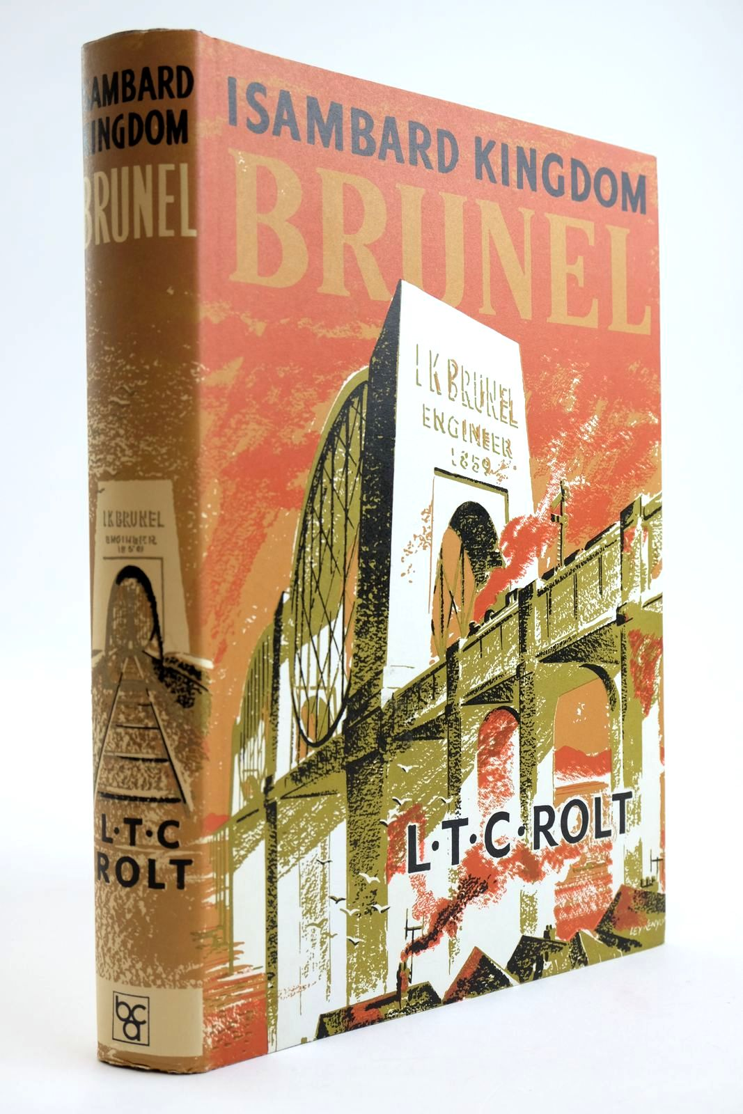 Photo of ISAMBARD KINGDOM BRUNEL: A BIOGRAPHY written by Rolt, L.T.C. published by Book Club Associates (STOCK CODE: 2133601)  for sale by Stella & Rose's Books