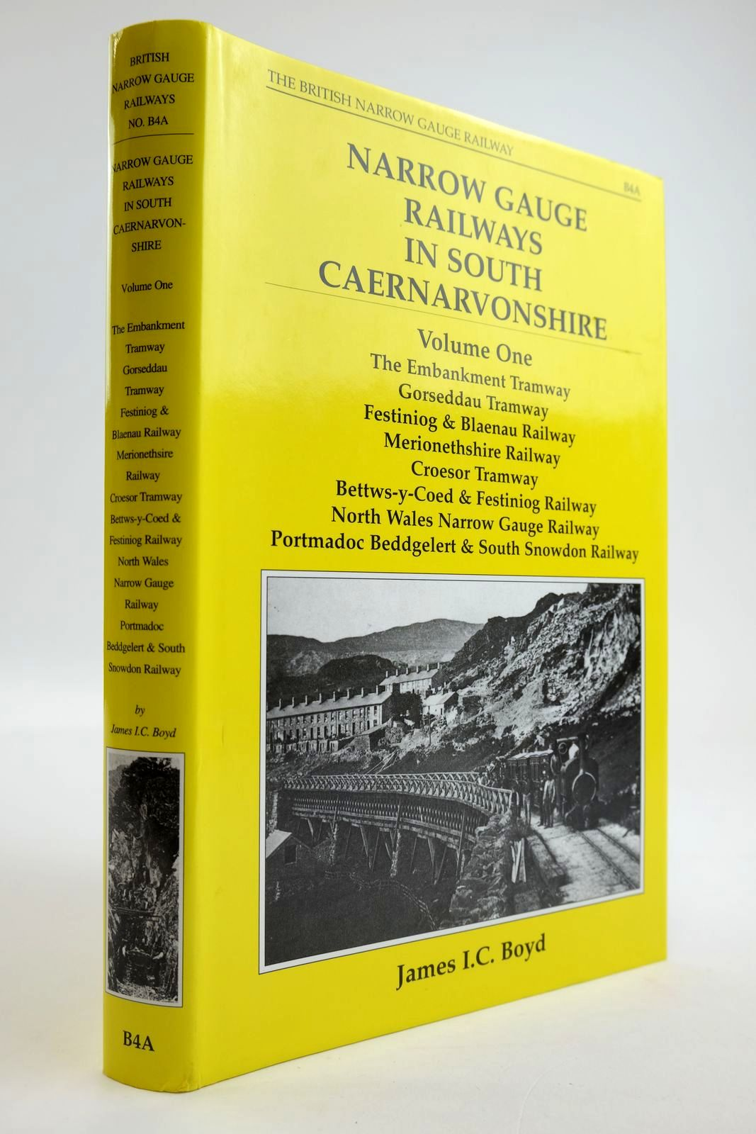 Photo of NARROW GAUGE RAILWAYS IN SOUTH CAERNARVONSHIRE VOLUME I written by Boyd, James I.C. published by The Oakwood Press (STOCK CODE: 2133615)  for sale by Stella & Rose's Books