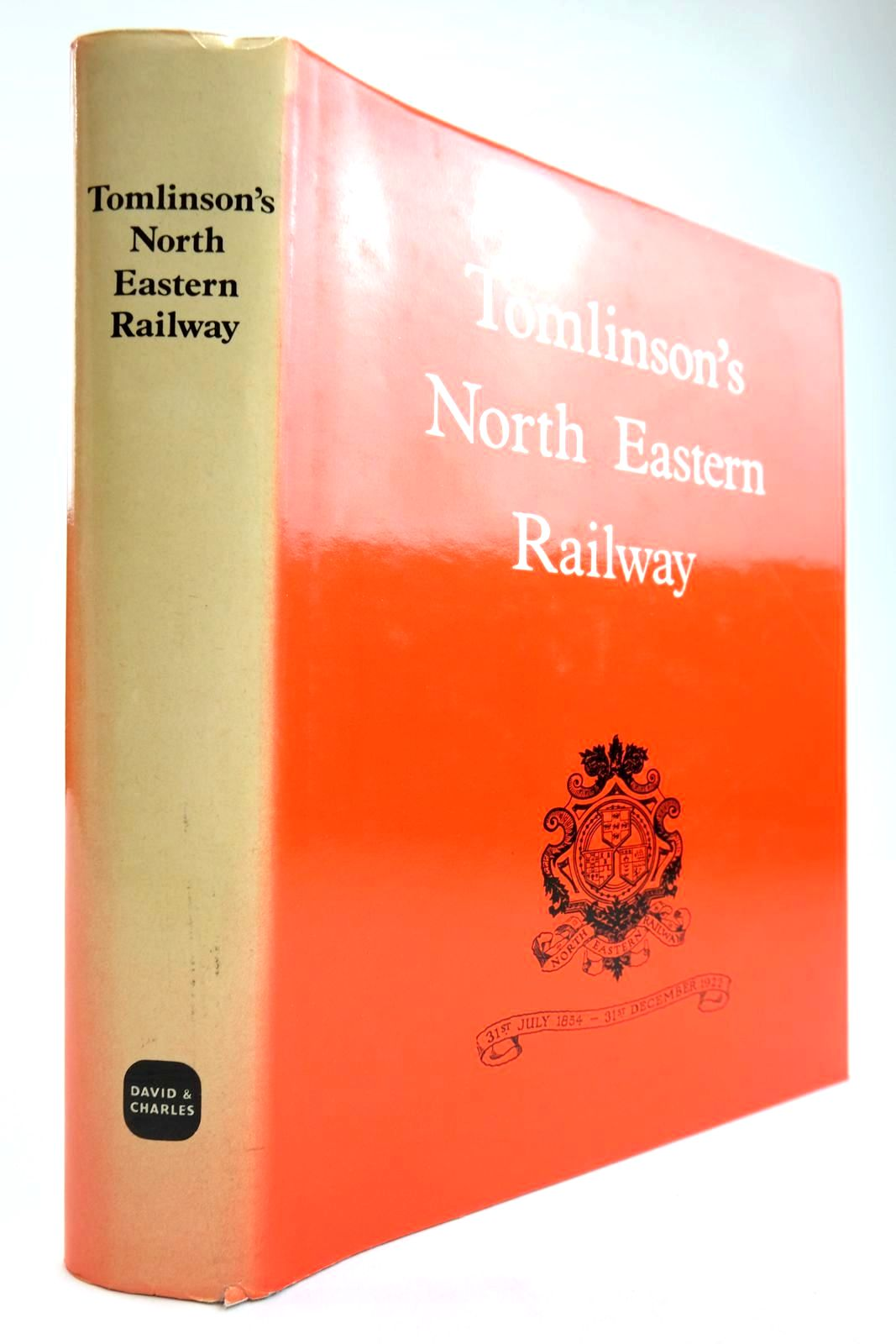 Photo of TOMLINSON'S NORTH EASTERN RAILWAY ITS RISE AND DEVELOPMENT written by Hoole, K. published by David & Charles (STOCK CODE: 2133629)  for sale by Stella & Rose's Books