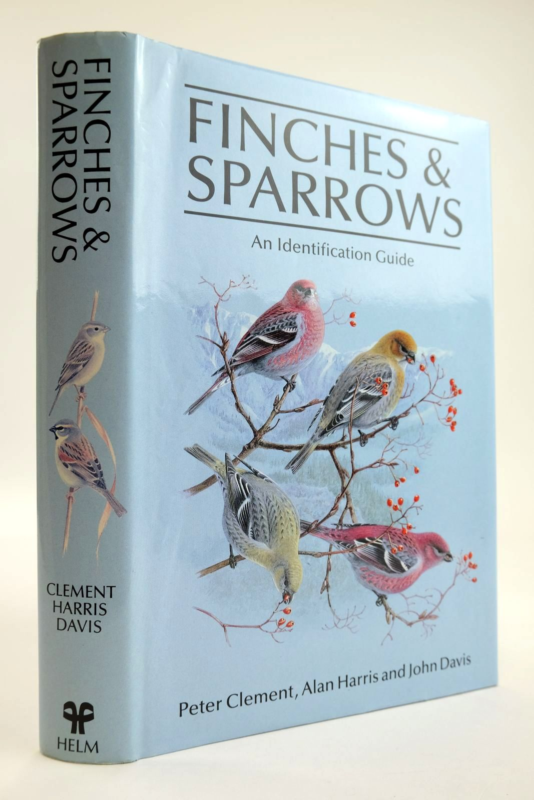 Photo of FINCHES & SPARROWS AN IDENTIFICATION GUIDE