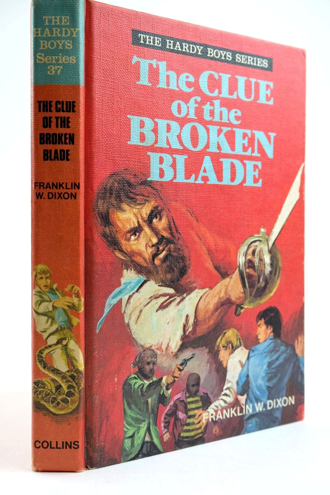 Photo of THE CLUE OF THE BROKEN BLADE- Stock Number: 2133669