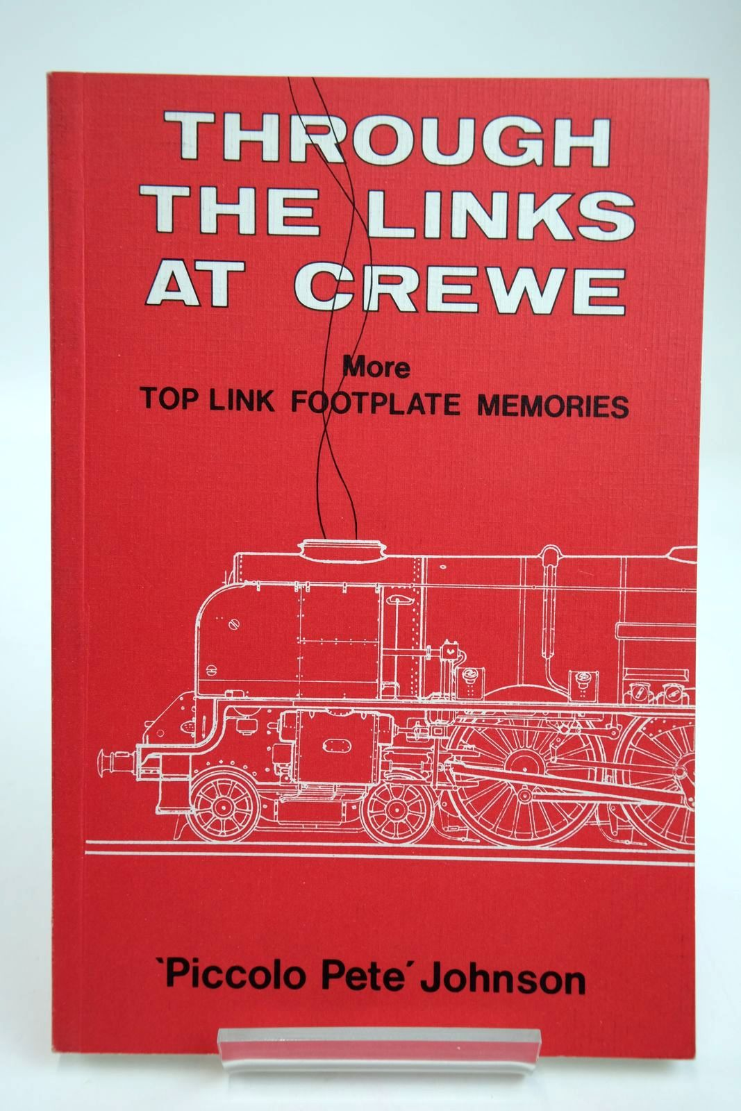 Photo of THROUGH THE LINKS AT CREWE MORE TOP LINK FOOTPLATE MEMORIES- Stock Number: 2133695