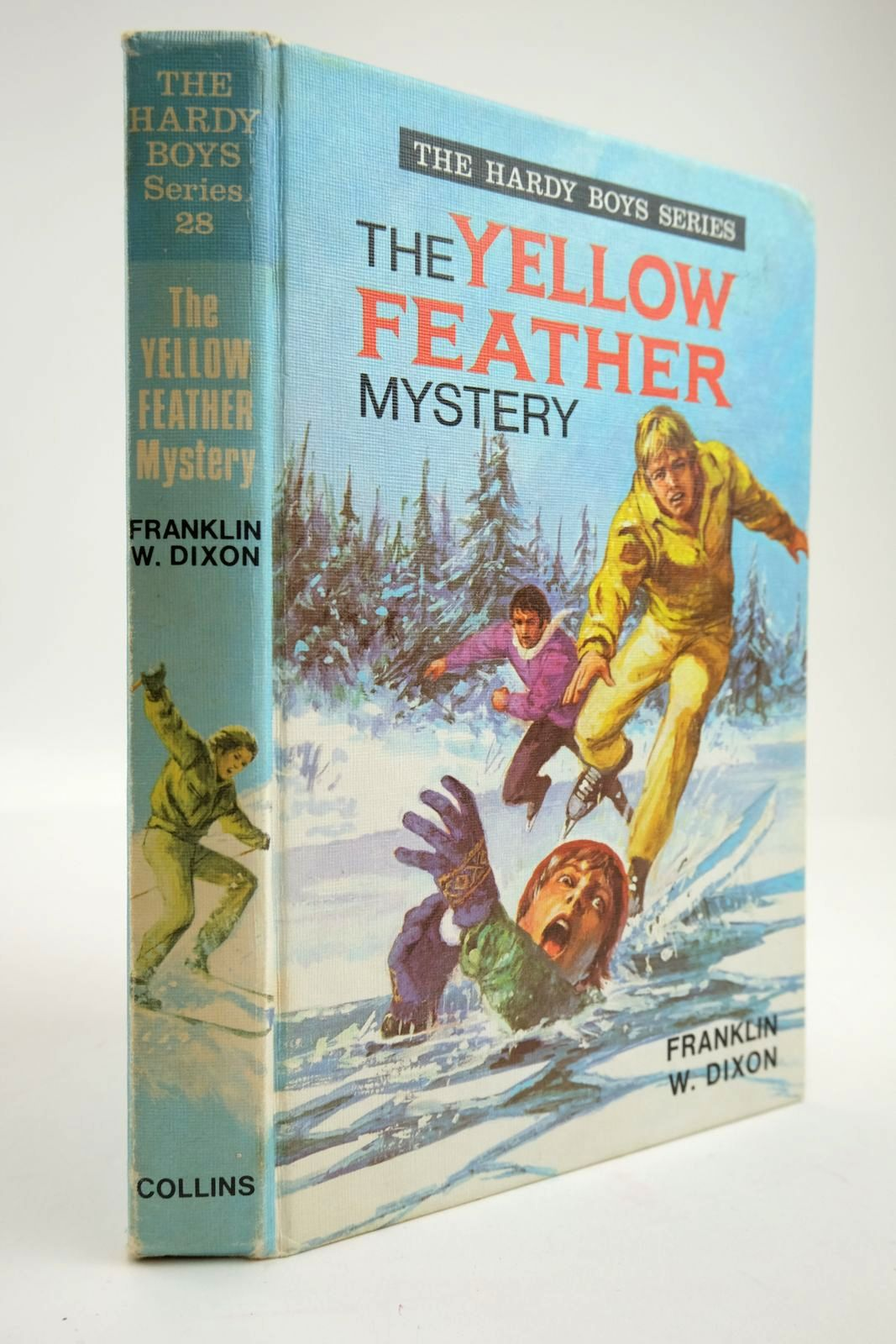 Photo of THE YELLOW FEATHER MYSTERY- Stock Number: 2133757