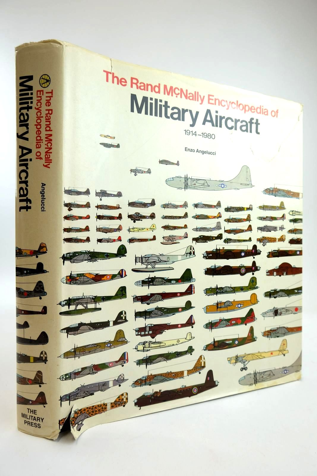 Photo of THE RAND MCNALLY ENCYCLOPEDIA OF MILITARY AIRCRAFT 1914-1980 written by Angelucci, Enzo Matricardi, Paolo published by The Military Press (STOCK CODE: 2133766)  for sale by Stella & Rose's Books