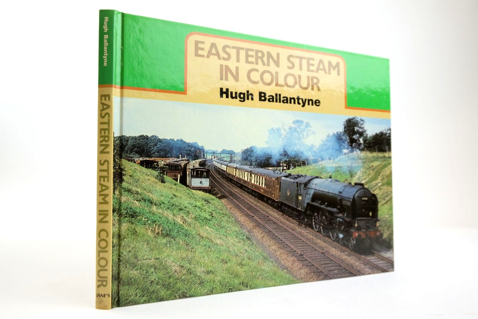 Photo of EASTERN STEAM IN COLOUR written by Ballantyne, Hugh published by Jane's Publishing Company (STOCK CODE: 2133793)  for sale by Stella & Rose's Books