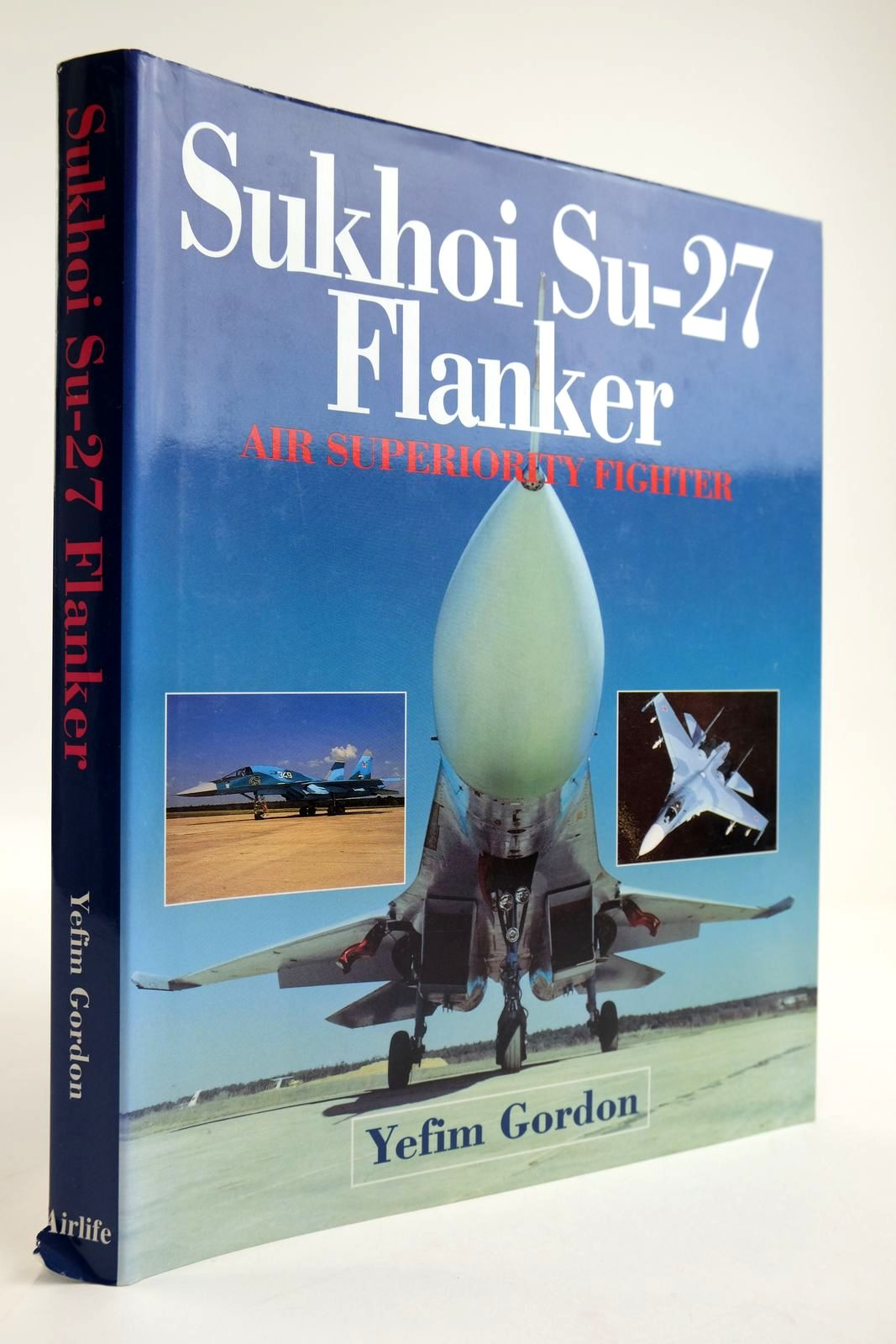 Photo of SUKHOI SU-27 FLANKER AIR SUPERIORITY FIGHTER- Stock Number: 2133812