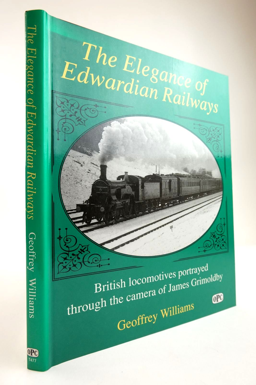 Photo of THE ELEGANCE OF THE EDWARDIAN RAILWAYS written by Williams, Geoffrey published by Oxford Publishing Co (STOCK CODE: 2133843)  for sale by Stella & Rose's Books