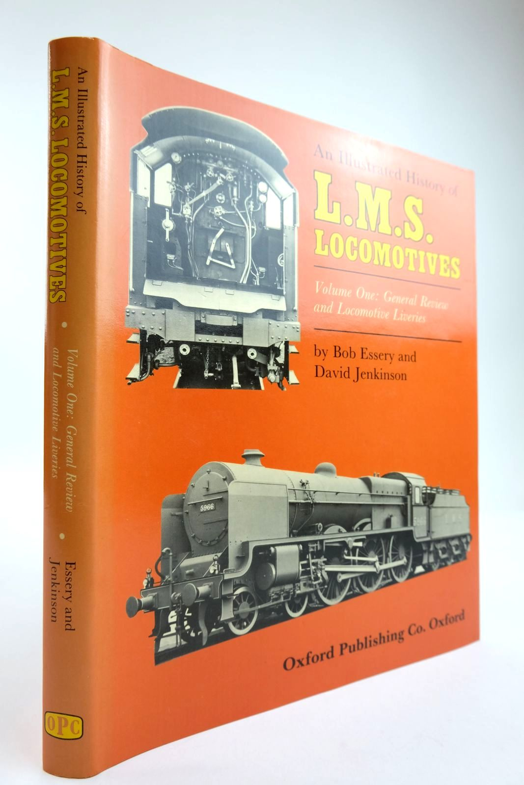 Photo of AN ILLUSTRATED HISTORY OF LMS LOCOMOTIVES VOLUME ONE written by Essery, Bob Jenkinson, David published by Oxford Publishing (STOCK CODE: 2133847)  for sale by Stella & Rose's Books