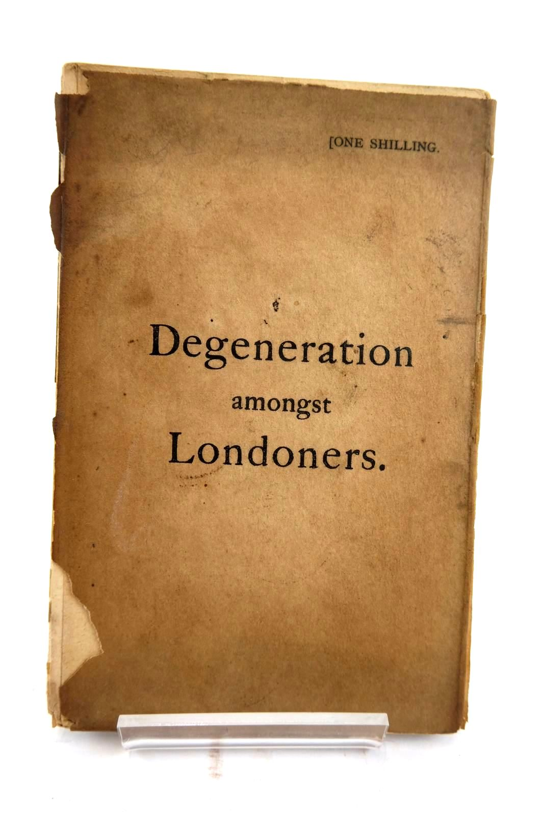 Photo of DEGENERATION AMONGST LONDONERS- Stock Number: 2133867