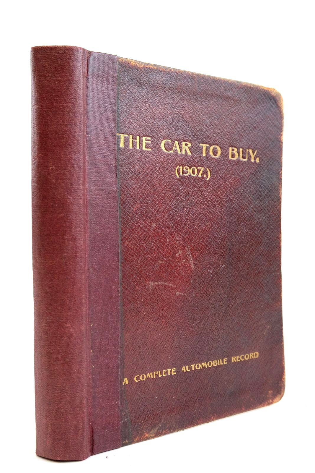 Photo of THE CAR TO BUY: A COMPLETE AUTOMOBILE RECORD- Stock Number: 2133868