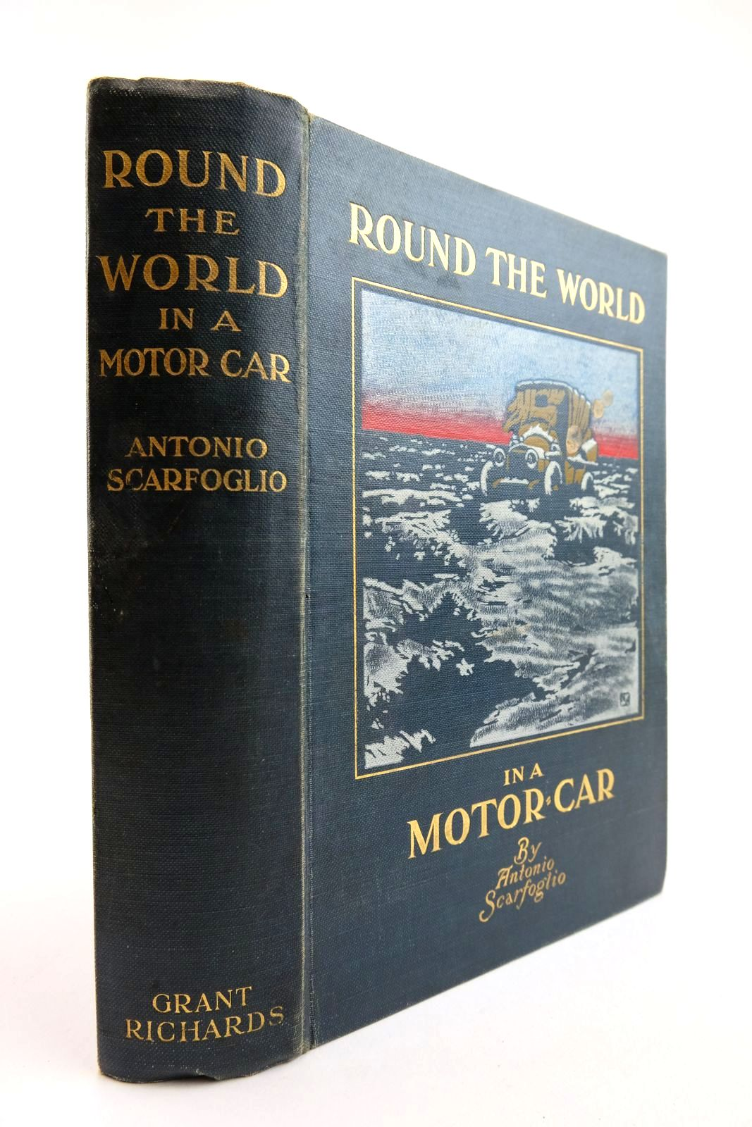 Photo of ROUND THE WORLD IN A MOTOR-CAR written by Scarfoglio, Antonio Heyes, J. Parker published by Grant Richards (STOCK CODE: 2133870)  for sale by Stella & Rose's Books