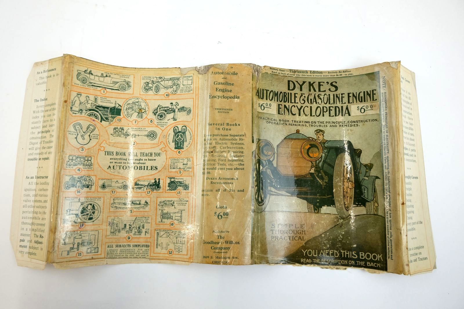 Photo of DYKE'S AUTOMOBILE AND GASOLINE ENGINE ENCYCLOPEDIA written by Dyke, A.L. published by The Goodheart-Willcox Company Inc. (STOCK CODE: 2133871)  for sale by Stella & Rose's Books