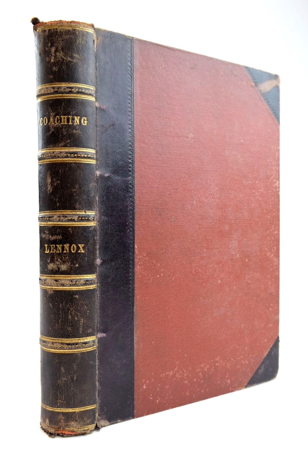 Photo of COACHING, WITH ANEDCOTES OF THE ROAD written by Lennox, William Pitt published by Hurst & Blackett (STOCK CODE: 2133876)  for sale by Stella & Rose's Books