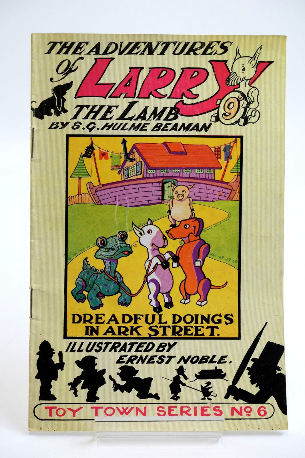 Photo of THE ADVENTURES OF LARRY THE LAMB - DREADFUL DOINGS IN ARK STREET- Stock Number: 2133901