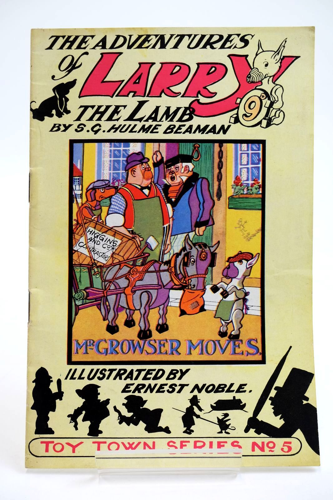 Photo of THE ADVENTURES OF LARRY THE LAMB - MR GROWSER MOVES- Stock Number: 2133902