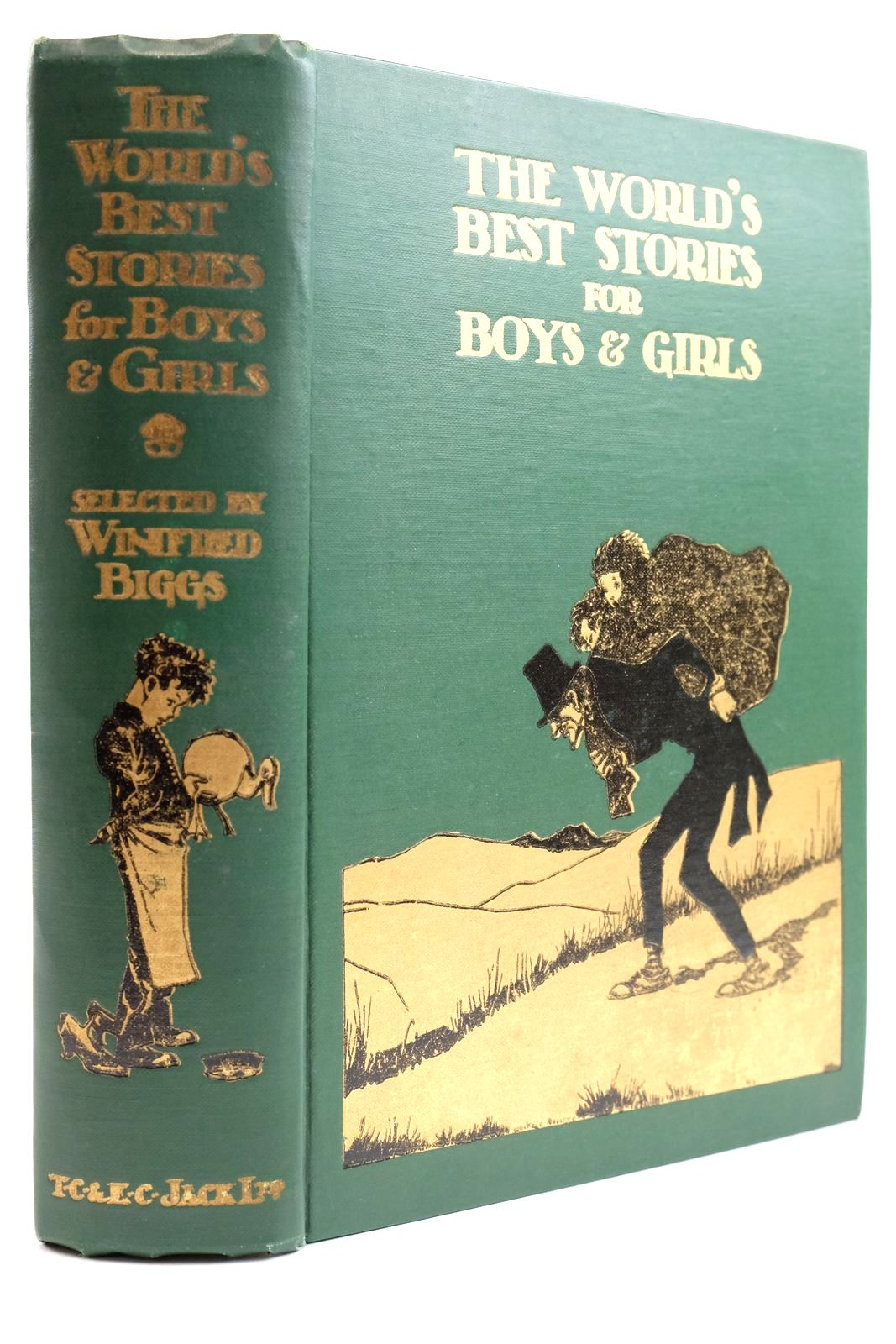 Photo of THE WORLD'S BEST STORIES FOR BOYS & GIRLS- Stock Number: 2133906