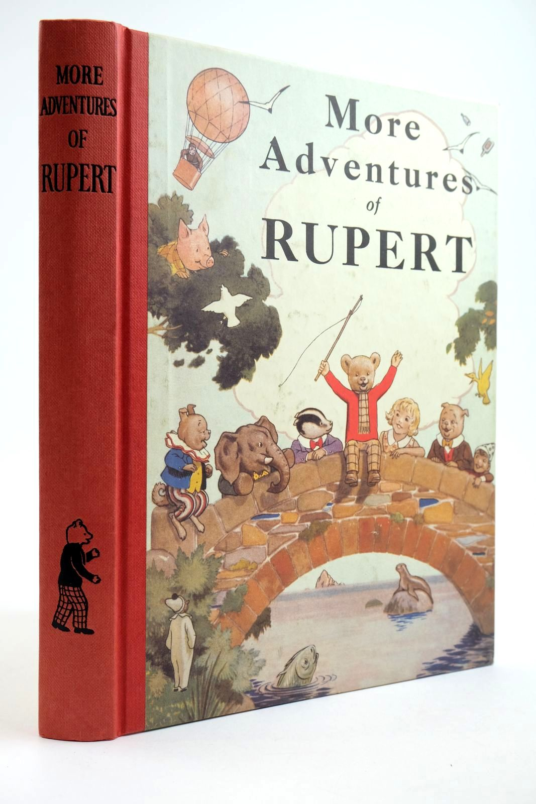 Photo of RUPERT ANNUAL 1937 (FACSIMILE) - MORE ADVENTURES OF RUPERT- Stock Number: 2133910