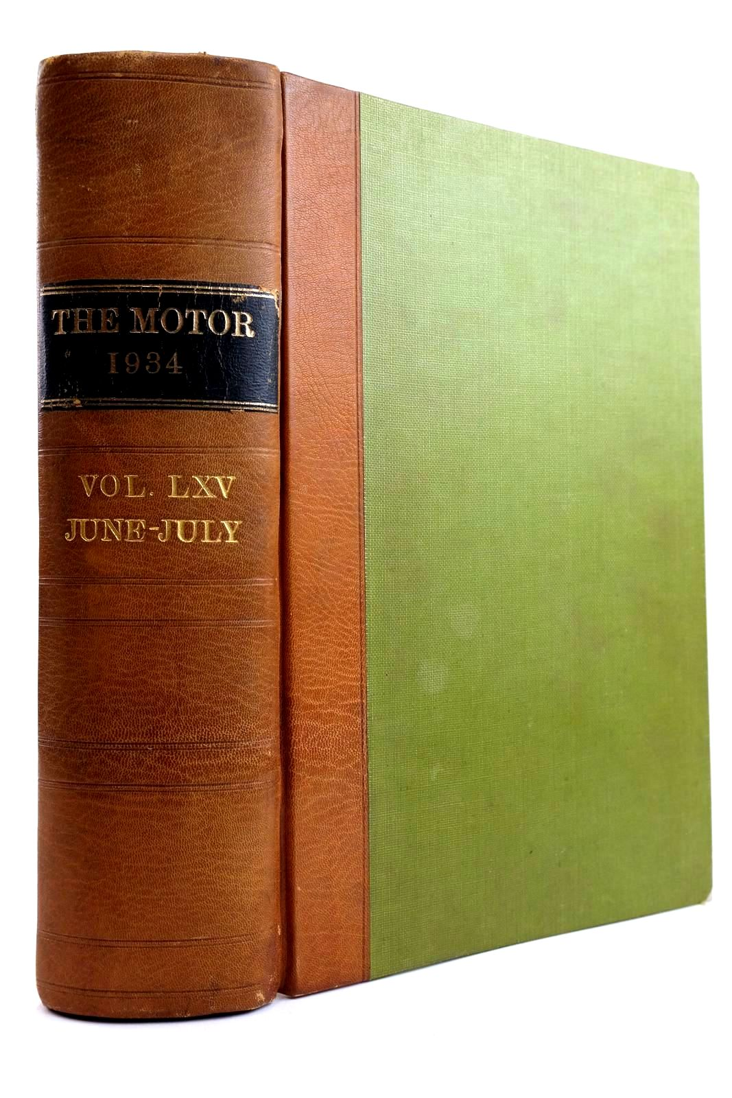 Photo of THE MOTOR 1934 VOL. LXV JUNE-JULY published by Ford Motor Company Limited (STOCK CODE: 2133935)  for sale by Stella & Rose's Books