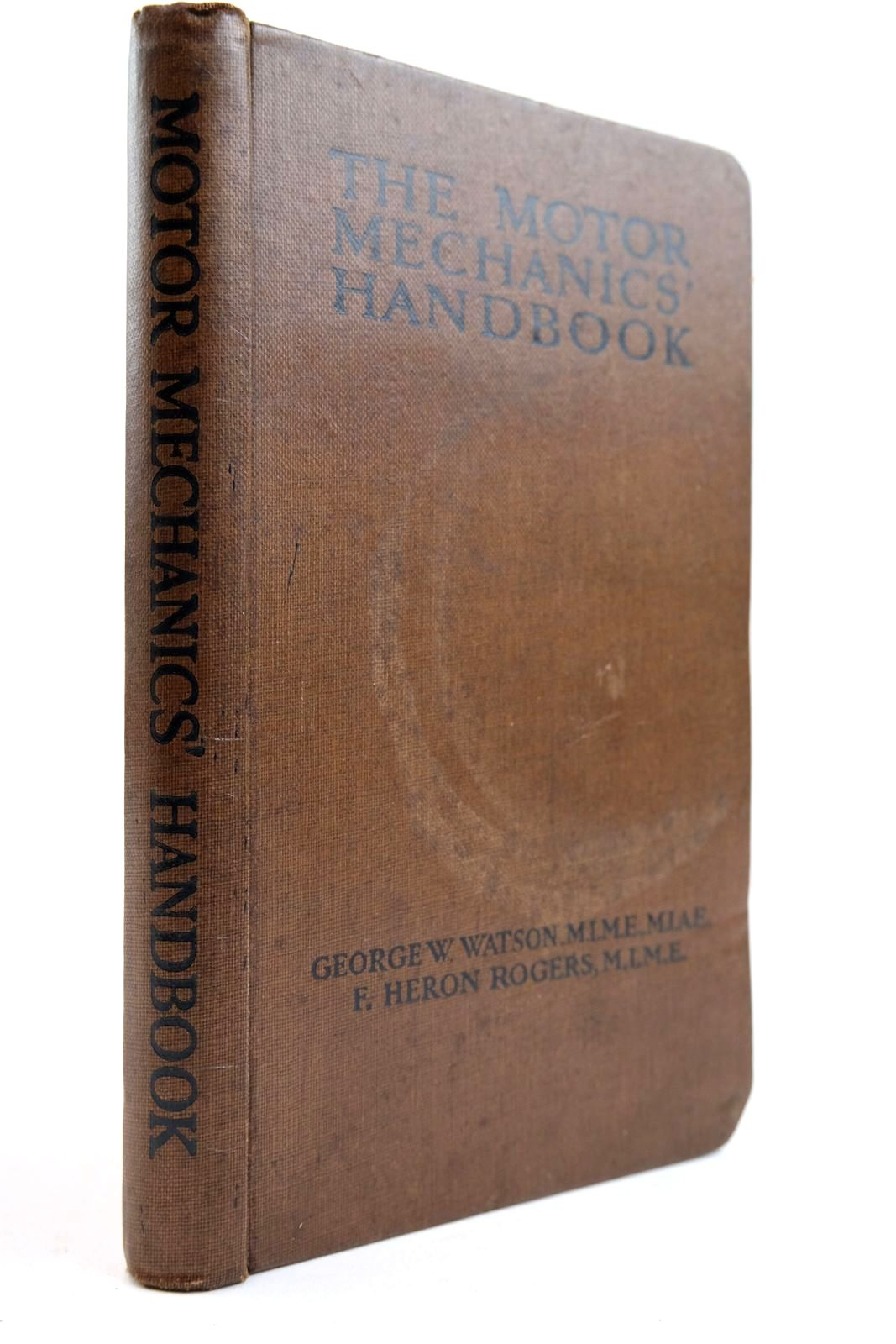 Photo of THE MOTOR MECHANICS' HANDBOOK- Stock Number: 2133946