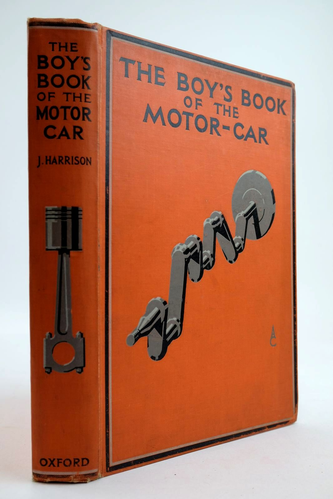 Photo of THE BOY'S BOOK OF THE MOTOR-CAR written by Harrison, John published by Humphrey Milford, Oxford University Press (STOCK CODE: 2133953)  for sale by Stella & Rose's Books