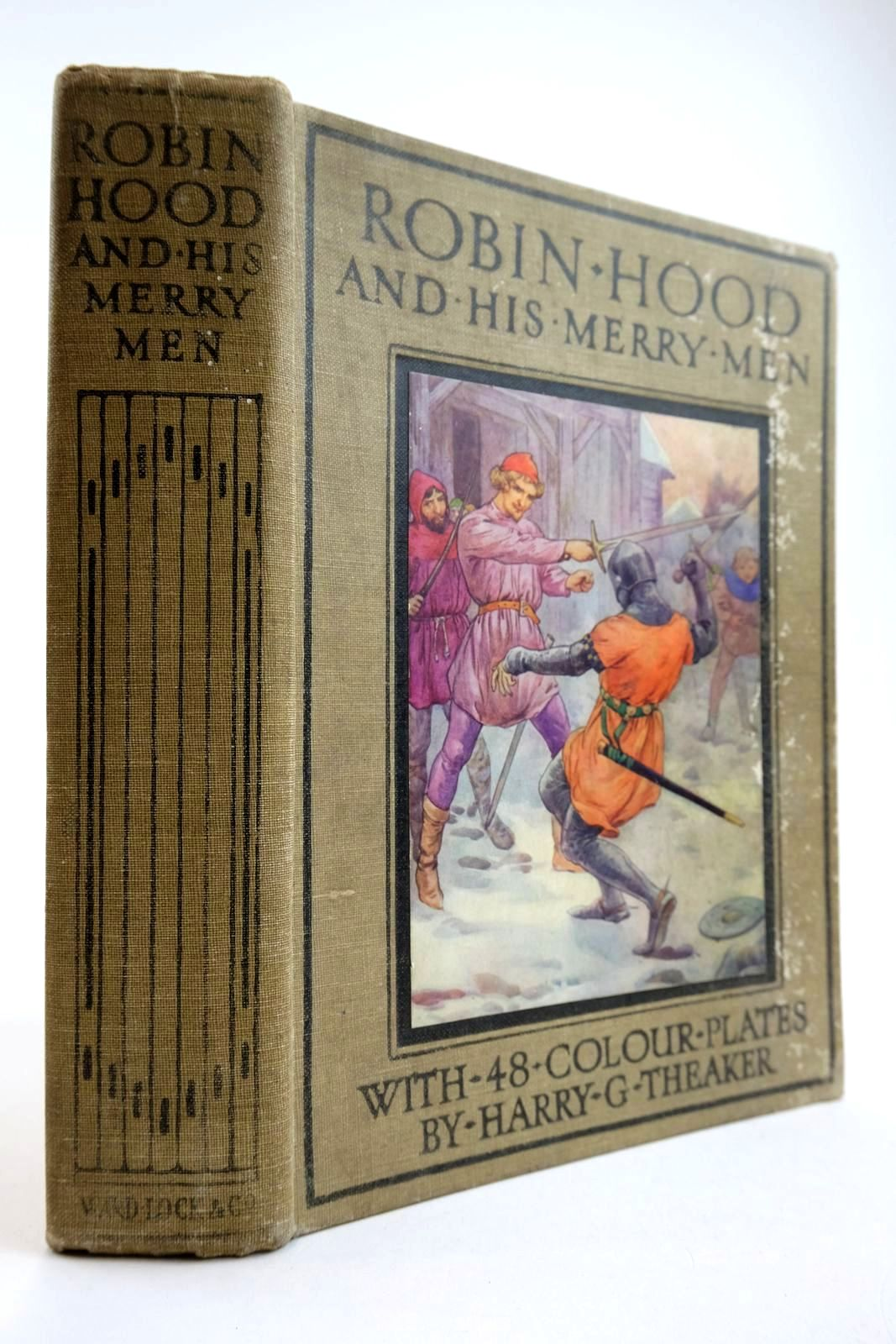 Photo of ROBIN HOOD AND HIS MERRY MEN written by Vivian, E. Charles illustrated by Theaker, Harry published by Ward Lock & Co Ltd. (STOCK CODE: 2133970)  for sale by Stella & Rose's Books