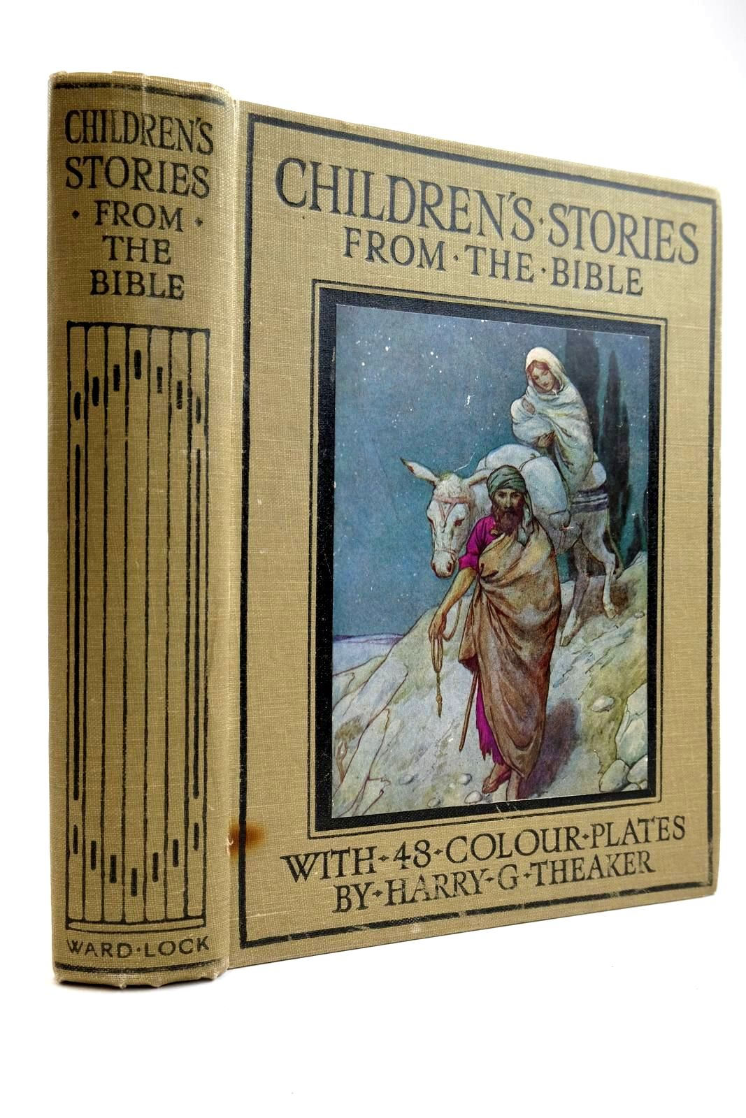 Photo of CHILDREN'S STORIES FROM THE BIBLE written by Winder, Blanche illustrated by Theaker, Harry published by Ward Lock & Co Ltd. (STOCK CODE: 2133987)  for sale by Stella & Rose's Books