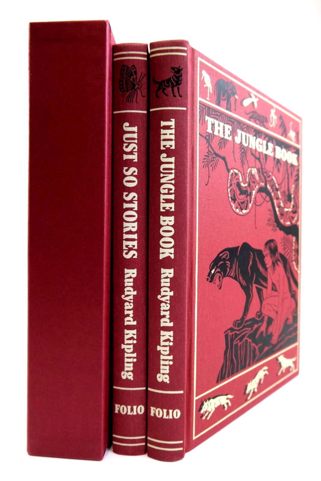 Photo of THE JUNGLE BOOK AND JUST SO STORIES written by Kipling, Rudyard illustrated by Detmold, Maurice Detmold, Edward J. Kipling, Rudyard published by Folio Society (STOCK CODE: 2133994)  for sale by Stella & Rose's Books
