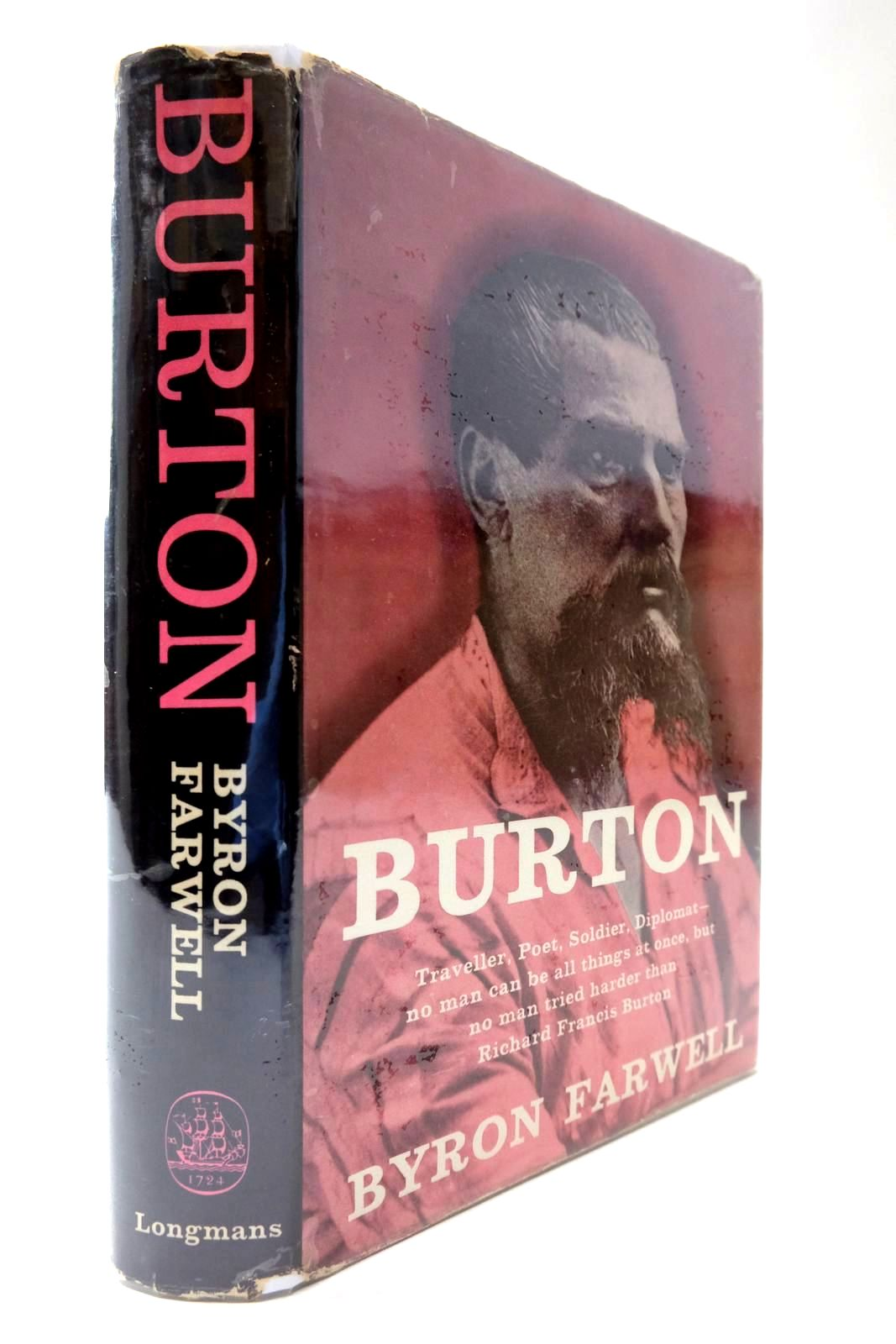 Photo of BURTON: A BIOGRAPHY OF SIR RICHARD FRANCIS BURTON written by Farwell, Byron published by Longmans (STOCK CODE: 2133999)  for sale by Stella & Rose's Books