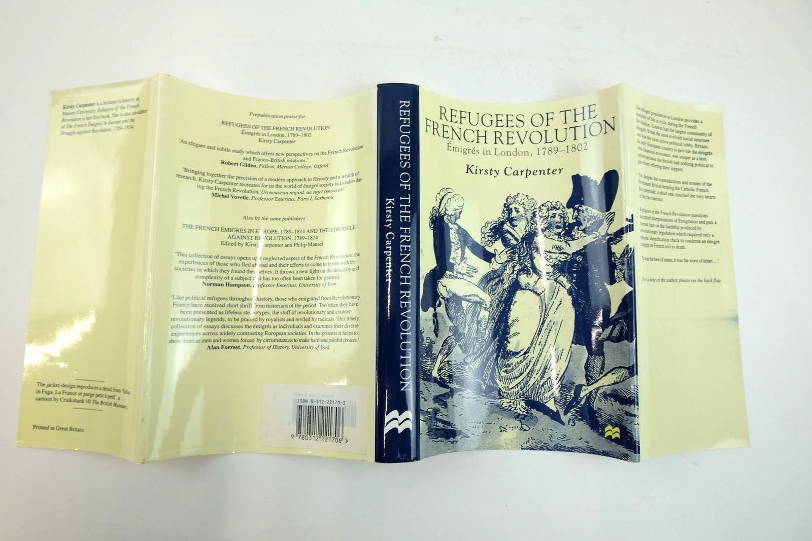 Photo of REFUGEES OF THE FRENCH REVOLUTION: EMIGRES IN LONDON, 1789-1802 written by Carpenter, Karen published by Macmillan Press Ltd (STOCK CODE: 2134009)  for sale by Stella & Rose's Books