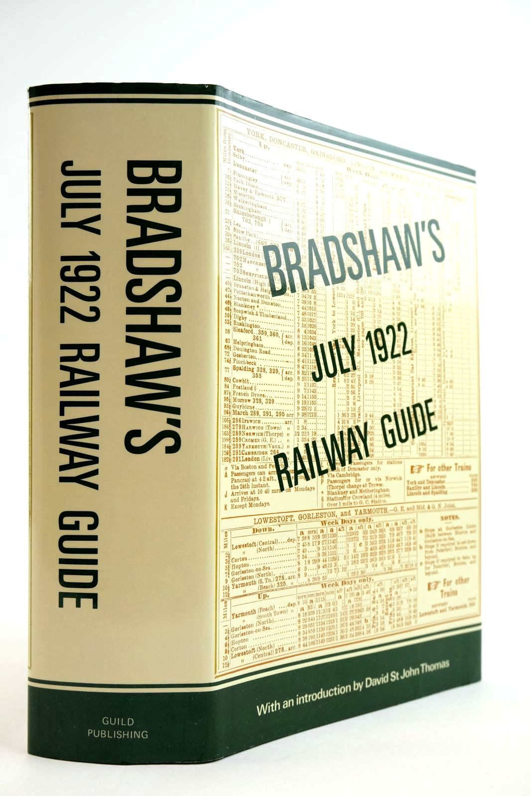 Photo of BRADSHAW'S JULY 1922 RAILWAY GUIDE- Stock Number: 2134041