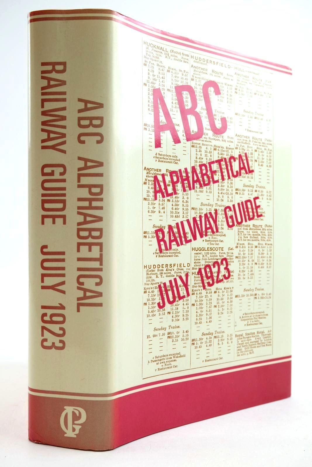 Photo of THE ABC ALPHABETICAL RAILWAY GUIDE JULY 1923- Stock Number: 2134042