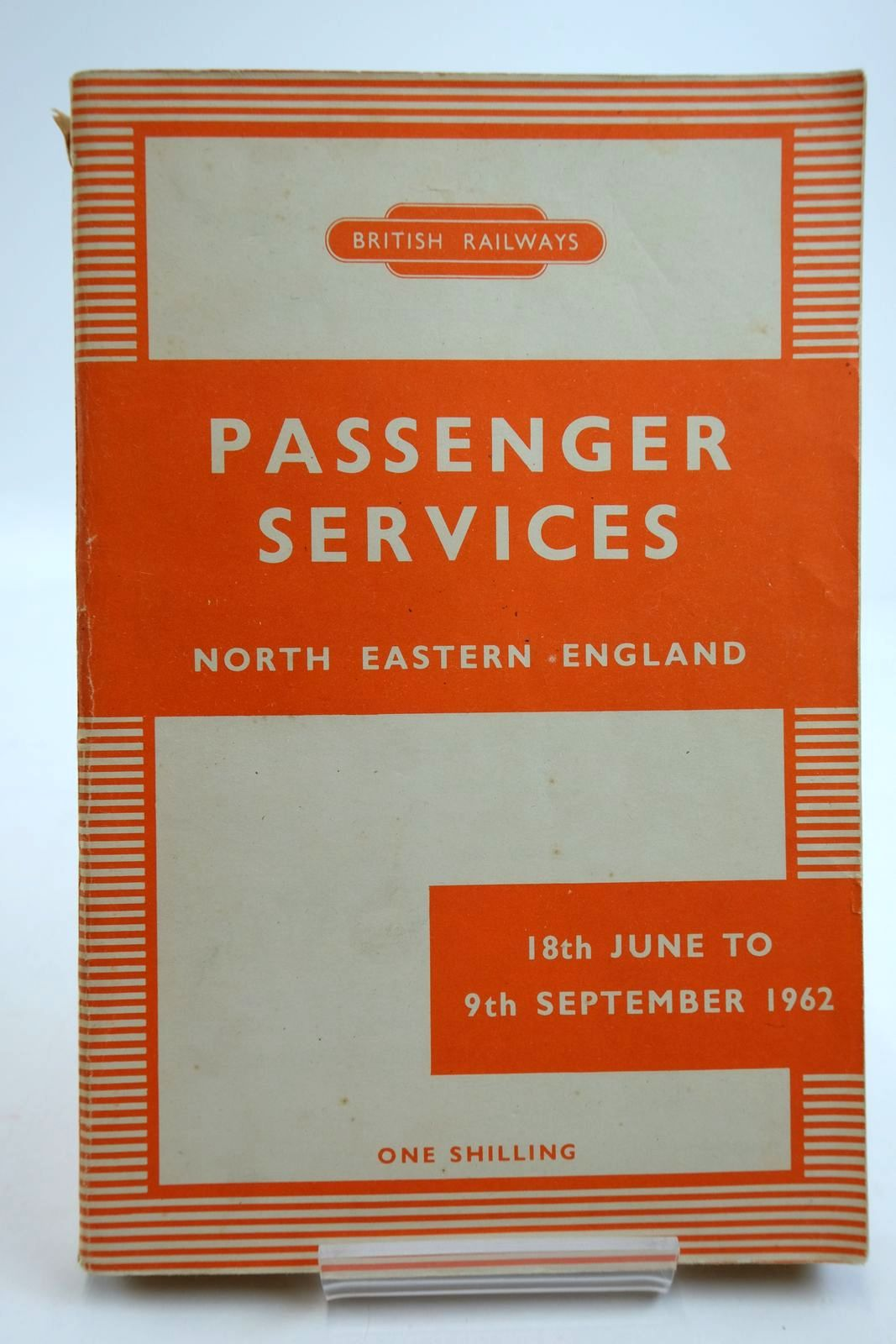 Photo of PASSENGER SERVICES NORTH EASTERN ENGLAND published by British Railways (STOCK CODE: 2134049)  for sale by Stella & Rose's Books