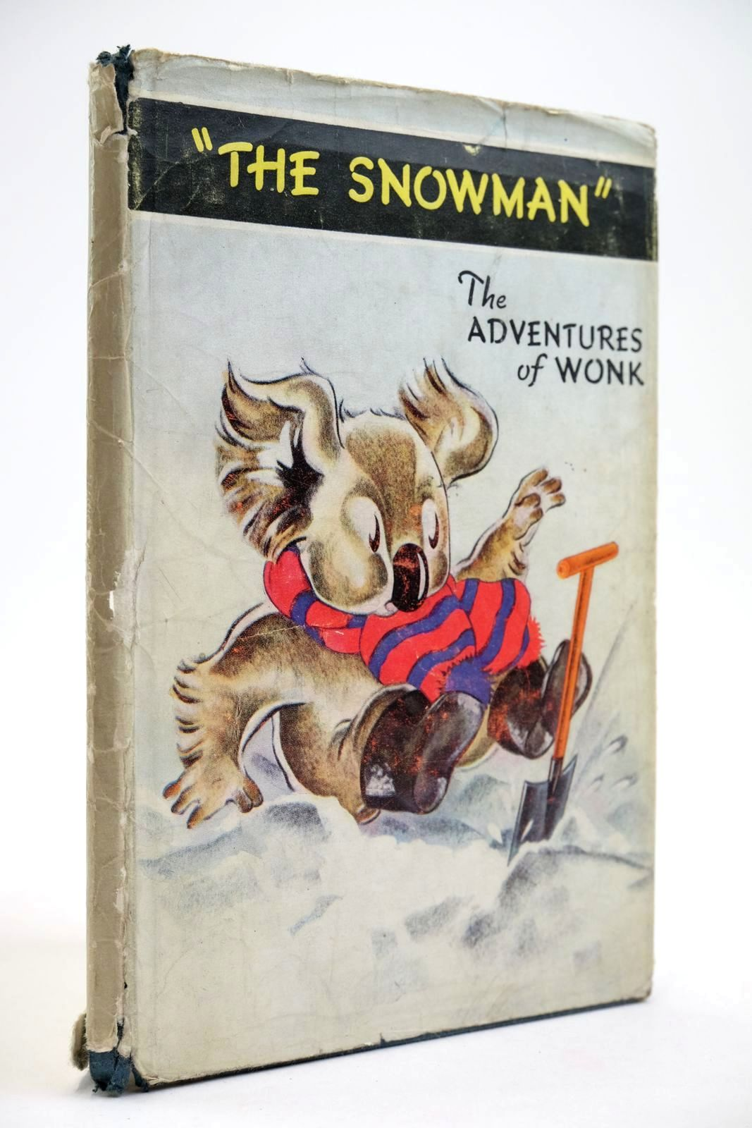 Photo of THE ADVENTURES OF WONK - THE SNOWMAN written by Levy, Muriel illustrated by Kiddell-Monroe, Joan published by Wills & Hepworth Ltd. (STOCK CODE: 2134076)  for sale by Stella & Rose's Books