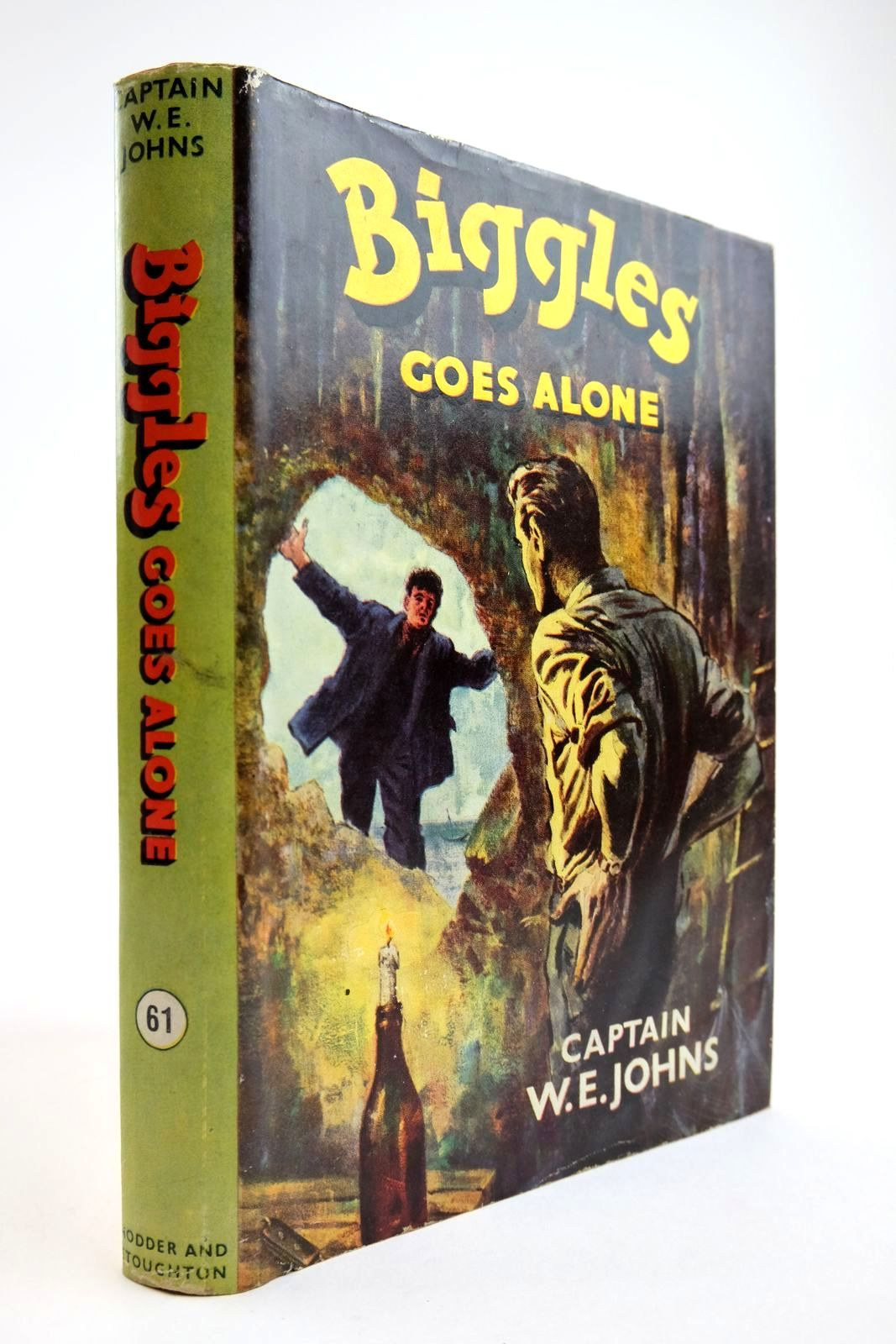 Photo of BIGGLES GOES ALONE- Stock Number: 2134083