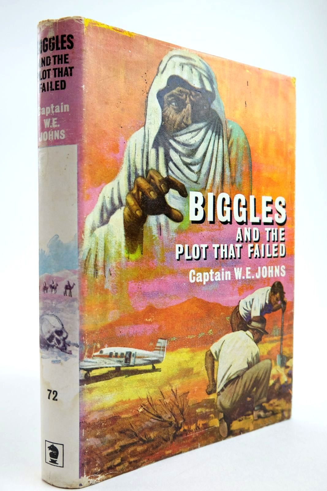 Photo of BIGGLES AND THE PLOT THAT FAILED written by Johns, W.E. published by Brockhampton Press (STOCK CODE: 2134087)  for sale by Stella & Rose's Books