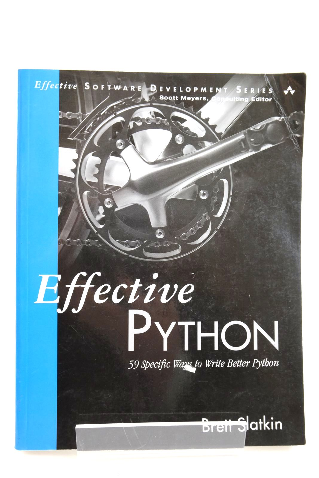 Photo of EFFECTIVE PYTHON: 59 SPECIFIC WAYS TO WRITE BETTER PYTHON written by Slatkin, Brett published by Addison-Wesley (STOCK CODE: 2134105)  for sale by Stella & Rose's Books