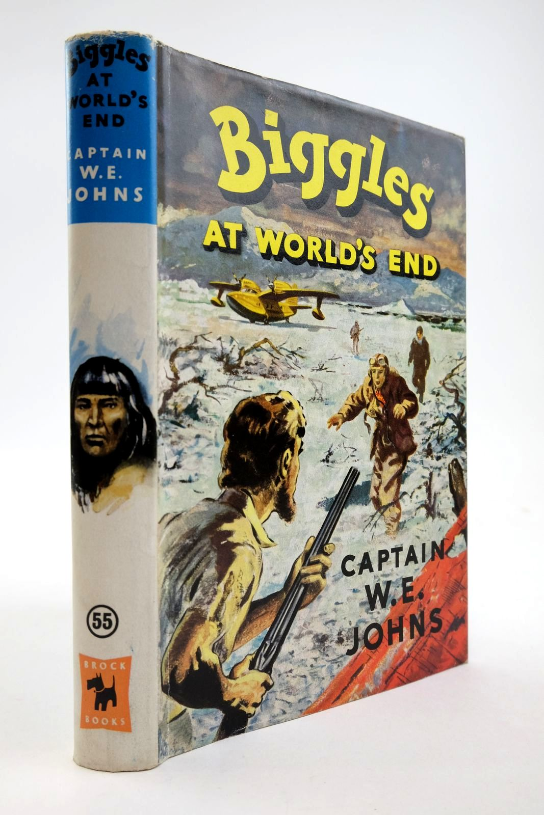 Photo of BIGGLES AT WORLD'S END written by Johns, W.E. illustrated by Stead, Leslie published by Brockhampton Press (STOCK CODE: 2134113)  for sale by Stella & Rose's Books